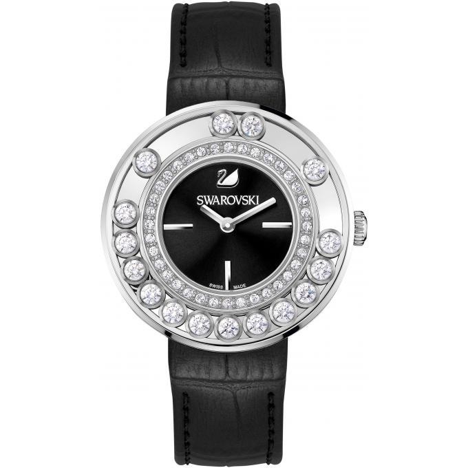 montre swarovski 1160306 montre cuir noir femme sur bijourama montre femme pas cher en ligne. Black Bedroom Furniture Sets. Home Design Ideas