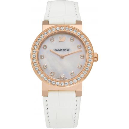 Montre Swarovski 5027219 - Montre Cristaux Or rose Femme