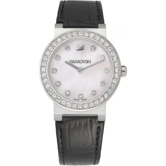 Montre swarovski citra 5027221 montre cuire ronde femme - Bracelet slake swarovski pas cher ...