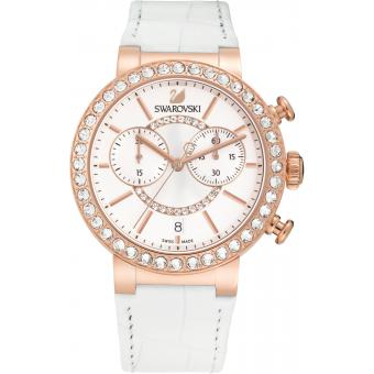Montre Swarovski 5080602 - Montre Ronde Or rose Femme