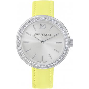 Montre Swarovski DAY TIME 5095643 - Montre Ronde Jaune Femme