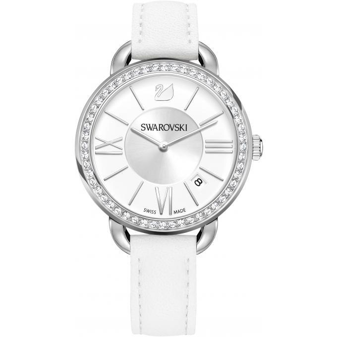 montre swarovski aila 5095938 montre ronde blanche femme sur bijourama montre femme pas cher. Black Bedroom Furniture Sets. Home Design Ideas