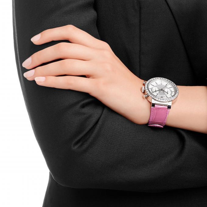montre swarovski 5096008 montre ronde rose femme sur bijourama montre femme pas cher en ligne. Black Bedroom Furniture Sets. Home Design Ideas