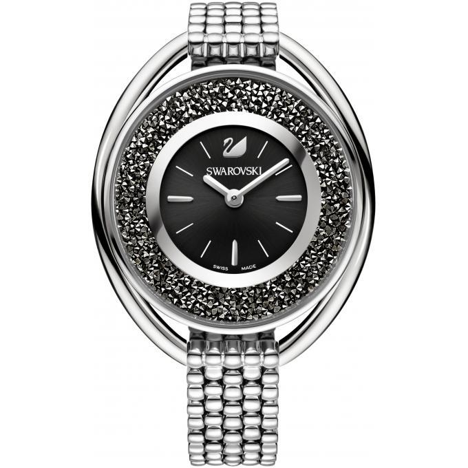 montre swarovski crystalline 5181664 montre ovale argent e femme sur bijourama montre femme. Black Bedroom Furniture Sets. Home Design Ideas