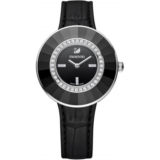 montre swarovski octea 5182252 montre noire c ramique femme sur bijourama montre femme pas. Black Bedroom Furniture Sets. Home Design Ideas