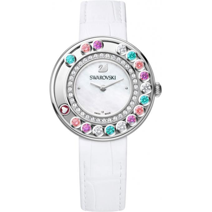 montre swarovski lovely 5183955 montre cristaux multicolores femme sur bijourama montre. Black Bedroom Furniture Sets. Home Design Ideas