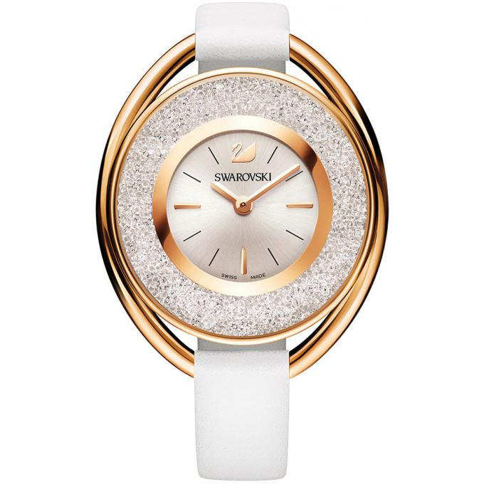 montre swarovski crystalline oval 5230946 montre ovale blanche femme sur bijourama montre. Black Bedroom Furniture Sets. Home Design Ideas