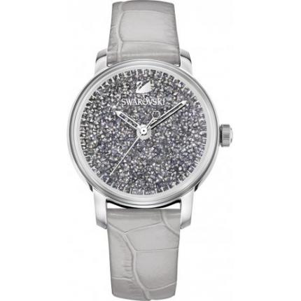 Montre Swarovski 5376074 - Round Crystal Metallic Light Gold Femme