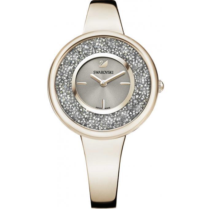 montre swarovski 5376077 crystal metallic light gold pure bangle femme sur bijourama montre. Black Bedroom Furniture Sets. Home Design Ideas