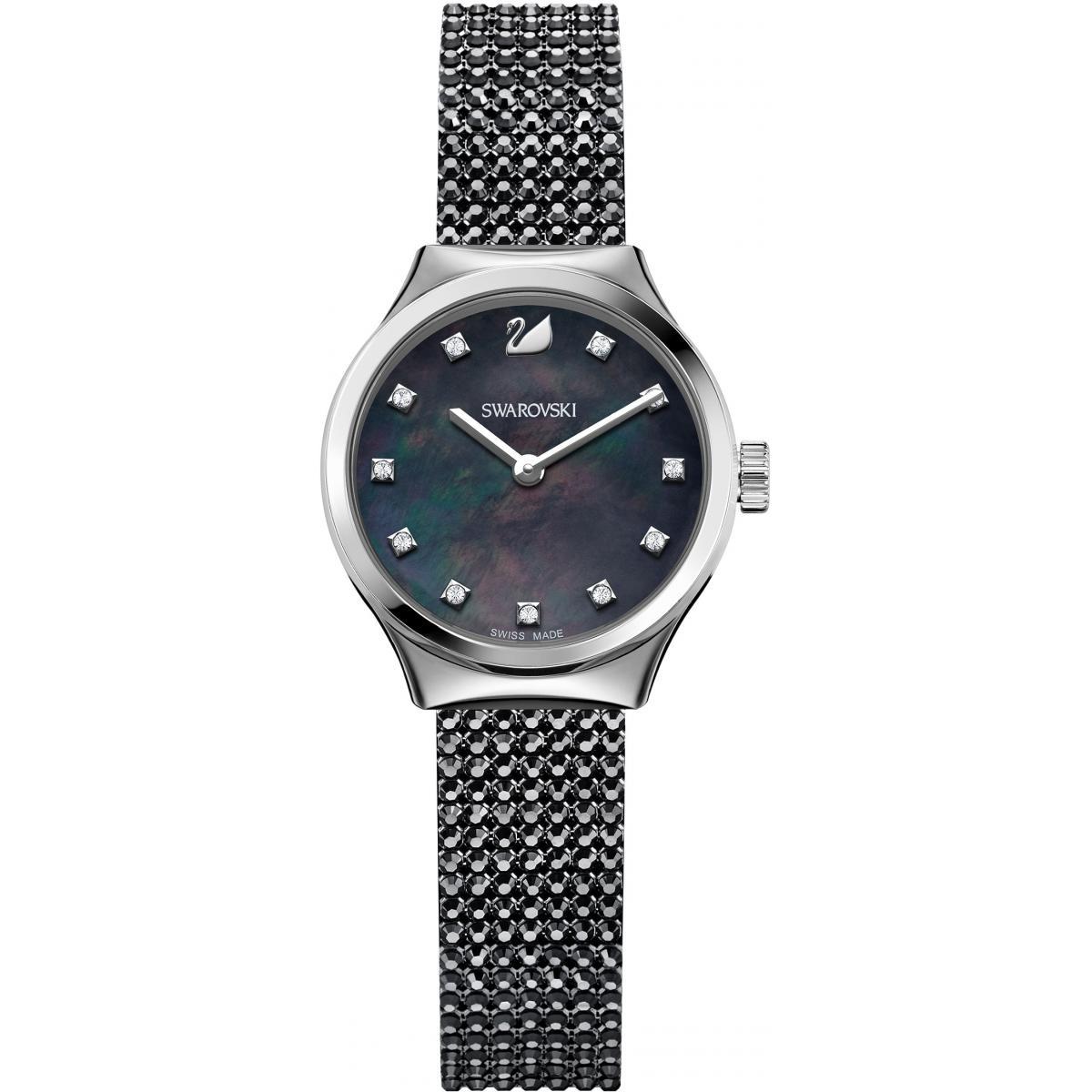 Montre Swarovski Dreamy 5200065 - Montre Cristal Noir Femme