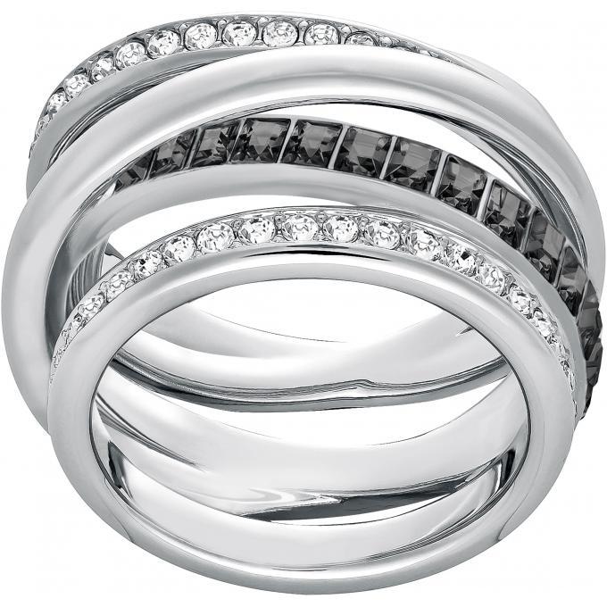 bague swarovski 5221437 bague spirale cristal femme sur. Black Bedroom Furniture Sets. Home Design Ideas