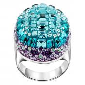 Bague Swarovski Bijoux Cristal Bleu 5221590 - Swarovski Bijoux
