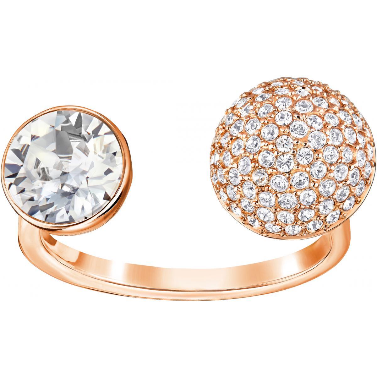 Bague Swarovski Modern Jewelry FORWARD-OP-CRY - Bague Or Blanc Femme