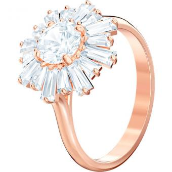 Bague Swarovski SUNSHINE-FLOWER-ROSEGOLD