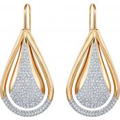 Boucles d'oreilles Swarovski Bijoux Acier Bicolore 5182666 - Swarovski Bijoux