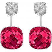 Boucles d'oreilles Swarovski Bijoux Cristal Rouge 5192370 - Rouge