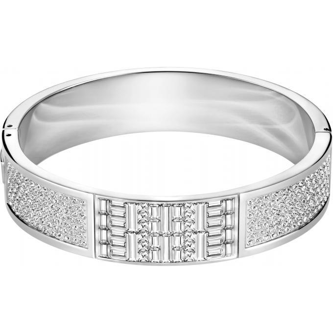 Bracelet Swarovski 5221406 , Bracelet Argent Pavé Femme