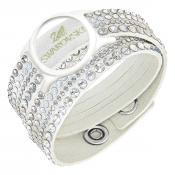 Bracelet Swarovski Bijoux Blanc Entrelacé 5225817 - Blanc