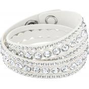 Bracelet Swarovski Bijoux Cristal Tissu 5240623 - Blanc