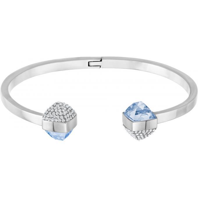 Bracelet Swarovski 5294964 , Bracelet Jonc Argent Cristaux Femme