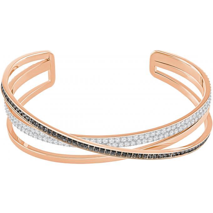 Bracelet Swarovski 5370985 - Bracelet Cristaux Plaqué Or Femme sur ... 139de2936d90