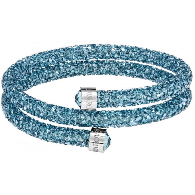 bracelet swarovski femme bleu. Black Bedroom Furniture Sets. Home Design Ideas