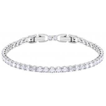 Bracelet Swarovski Bijoux 5409771 - Acier Argenté Cristaux Swarovski Femme