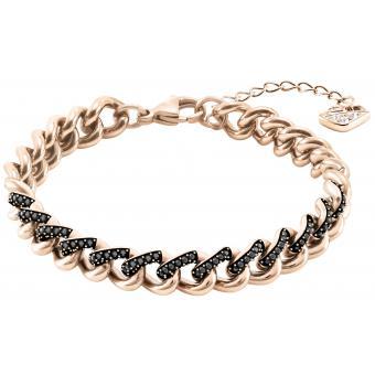 bracelet swarovski noir femme