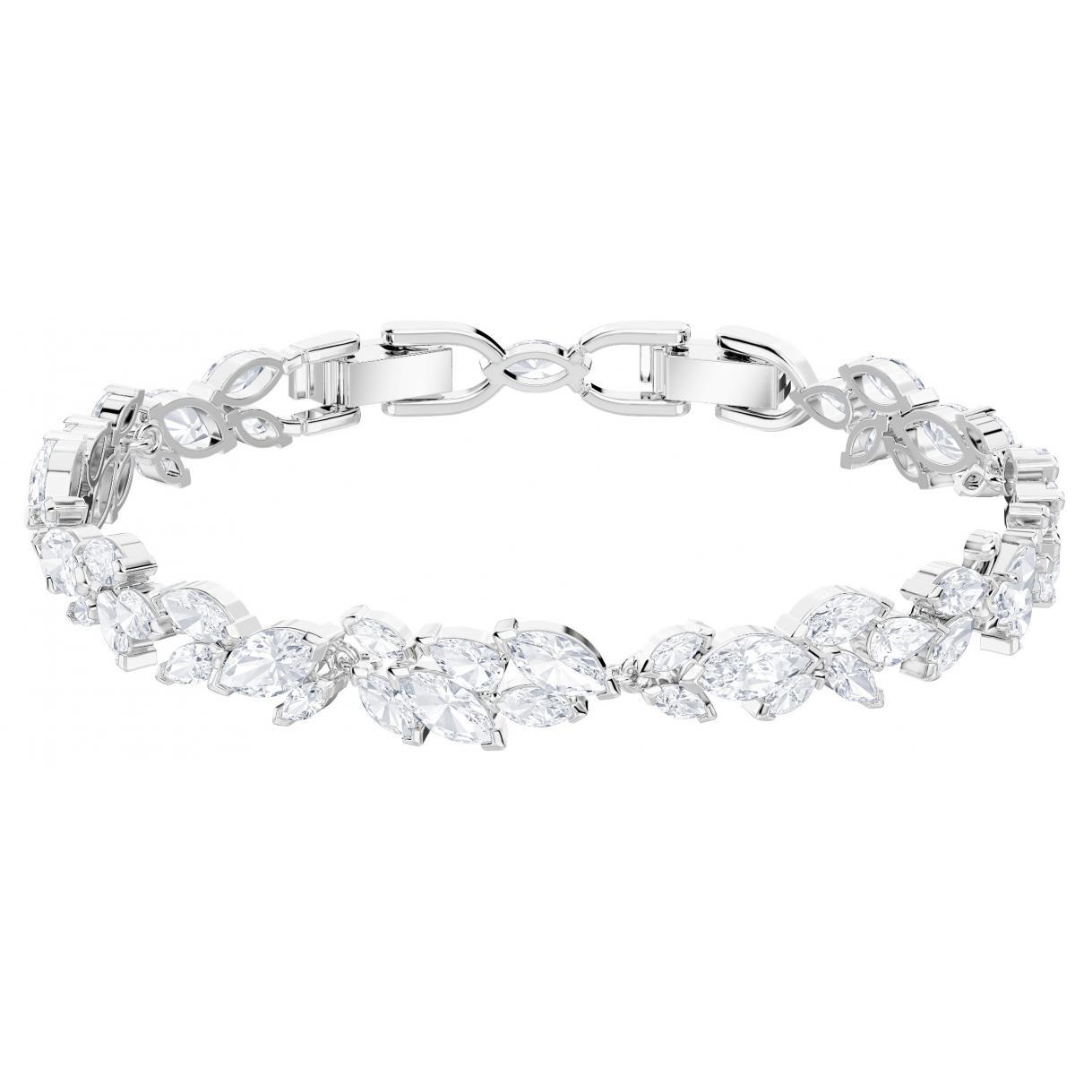 Bracelet Swarovski Bijoux 5419244 - Acier Argenté Cristaux Swarovski Femme