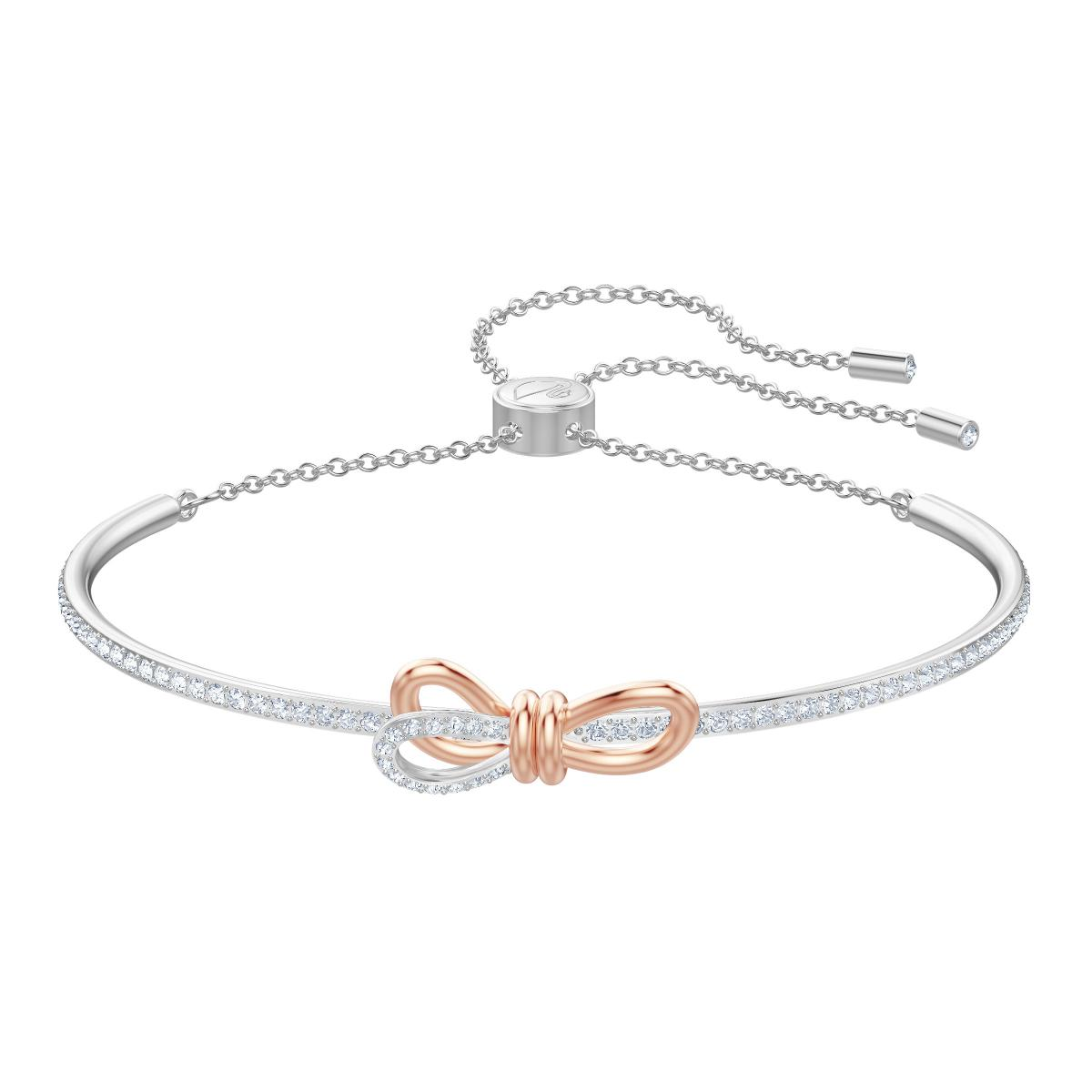 Bracelet Swarovski 5447079 , Bracelet Argenté Nœud Papillon