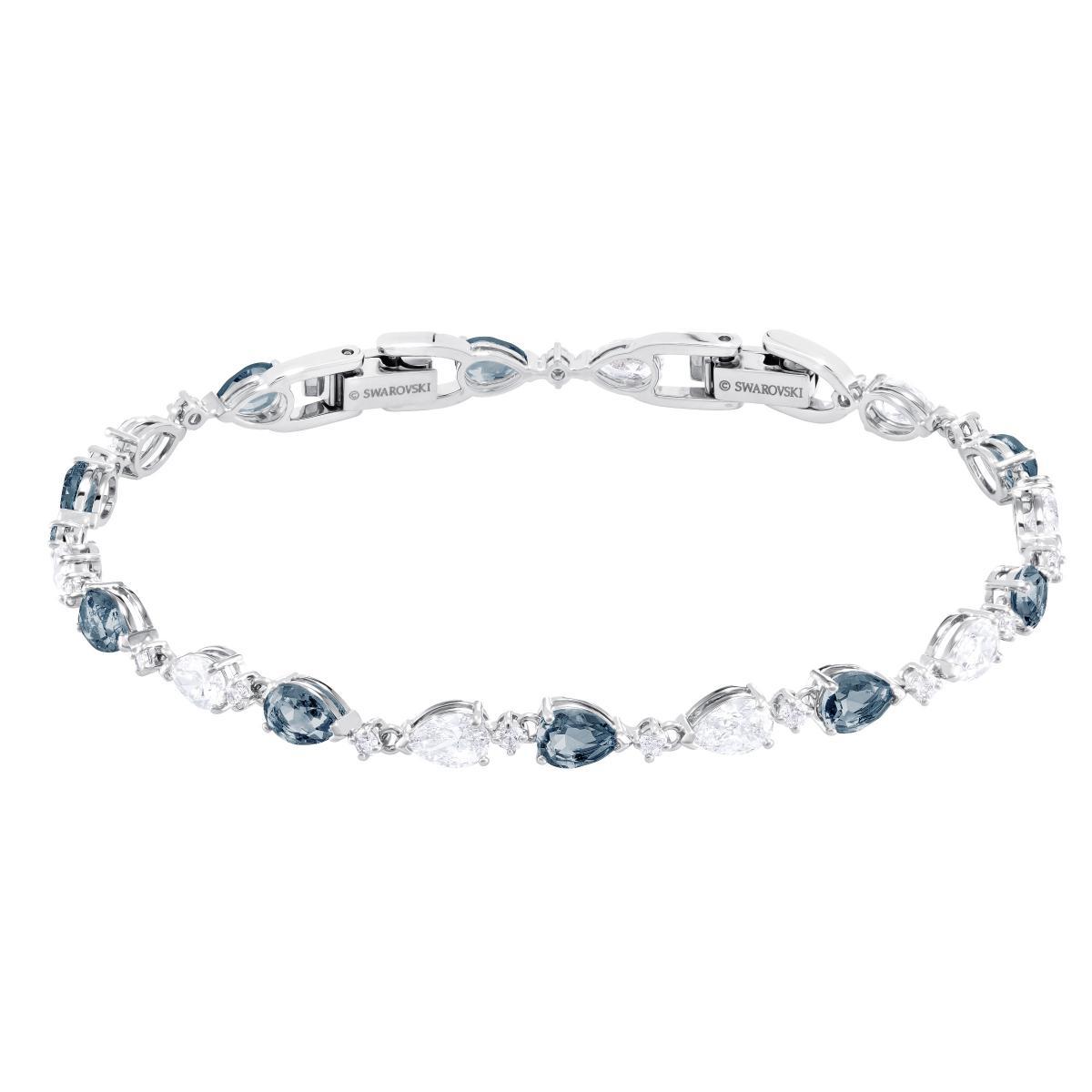 Bracelet Swarovski 5466882 - Bracelet Timeless Elegance Argenté Bleu Femme