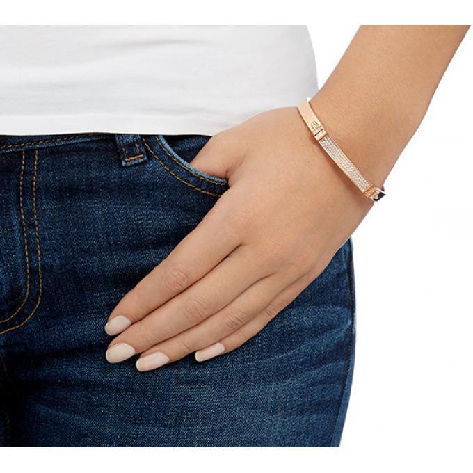 Bracelet Swarovski 5152481 Cristal Or Rose Femme Sur