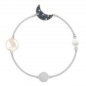 bracelet femme lune