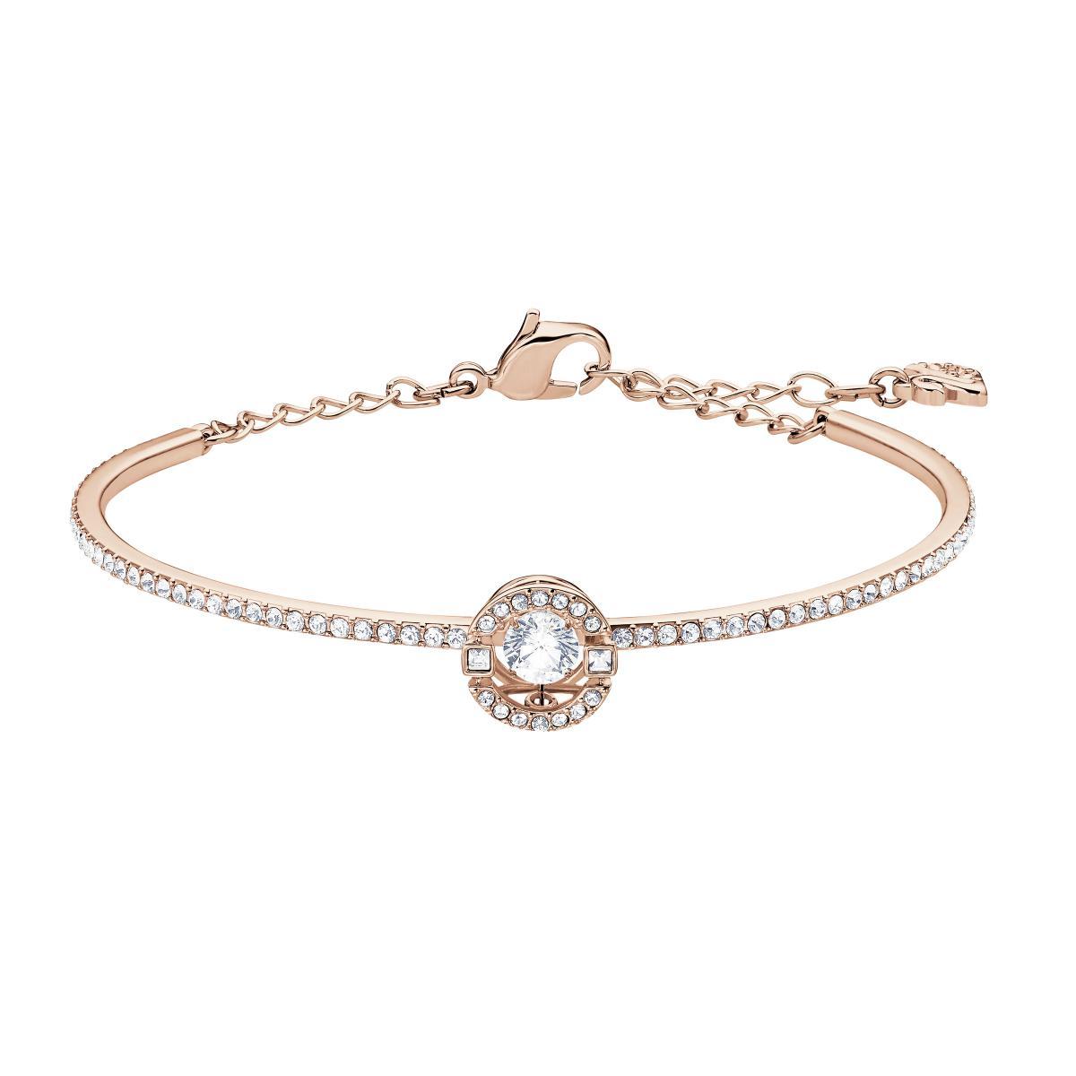 Bracelet Swarovski 5497483 - Métal Doré Rose Oeil de cristal étincelant  Femme