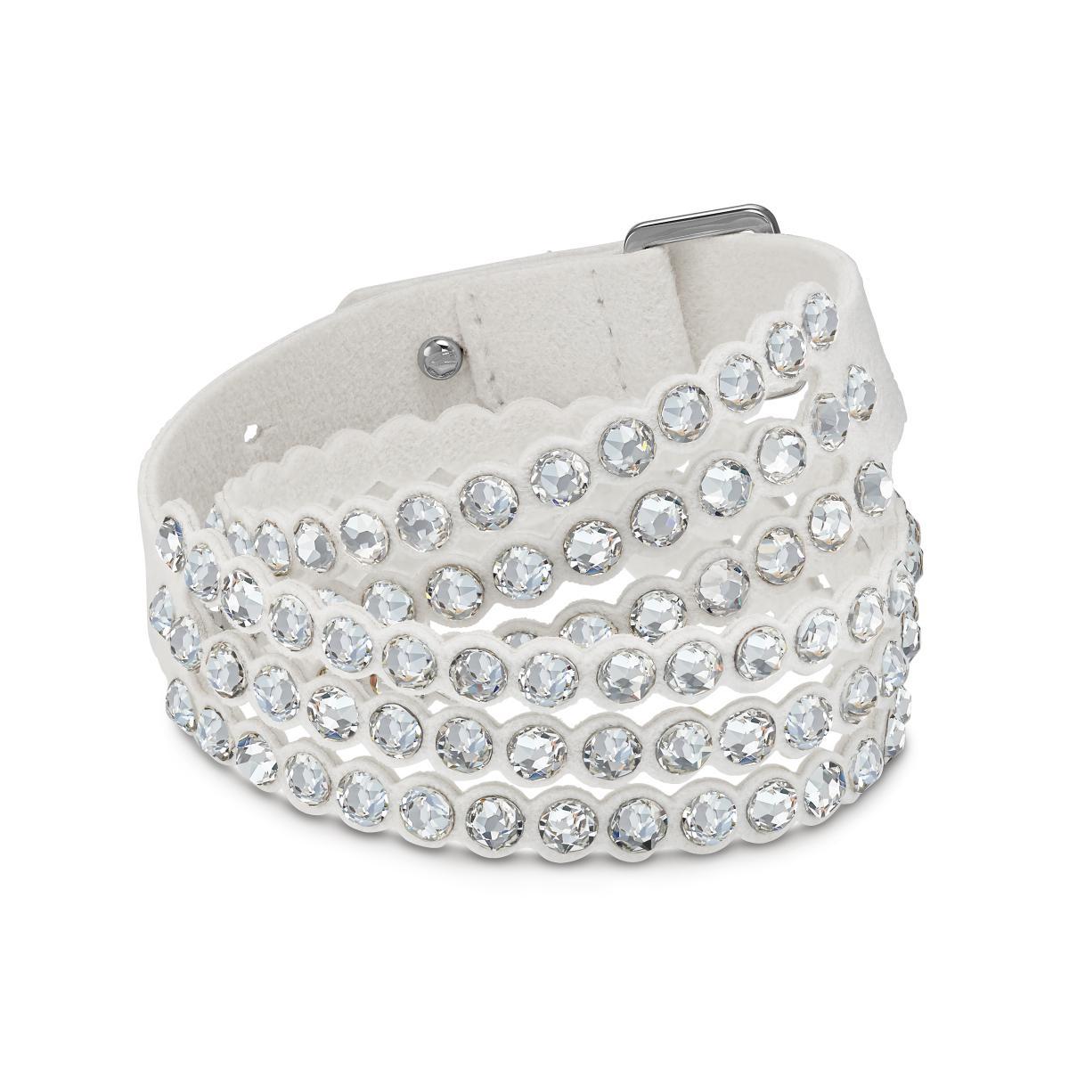 bracelet cuir femme swarovski