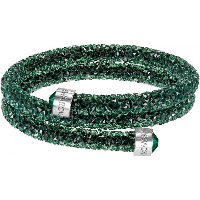 Bracelet Swarovski Crystaldust 5250687 , Bracelet Cristal Vert Femme