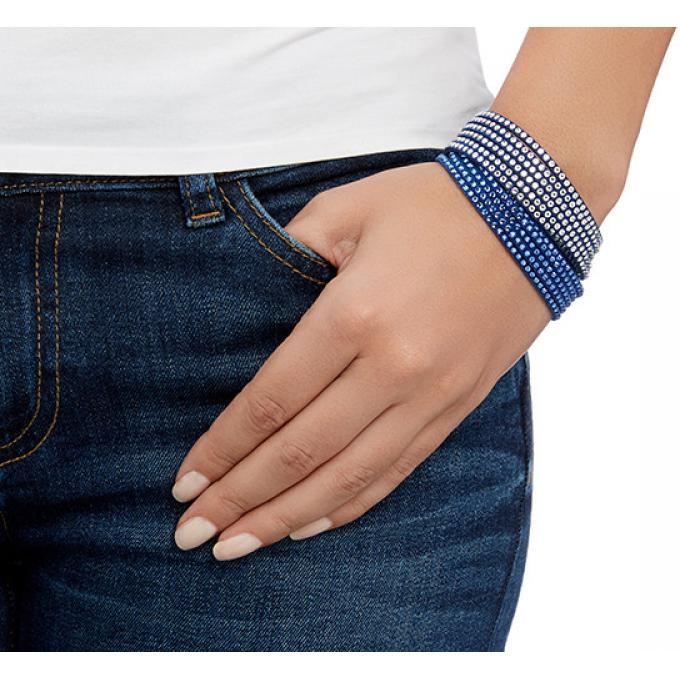 bracelet swarovski bleu. Black Bedroom Furniture Sets. Home Design Ideas
