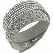Bracelet Swarovski Bijoux Slake Gris 5153246