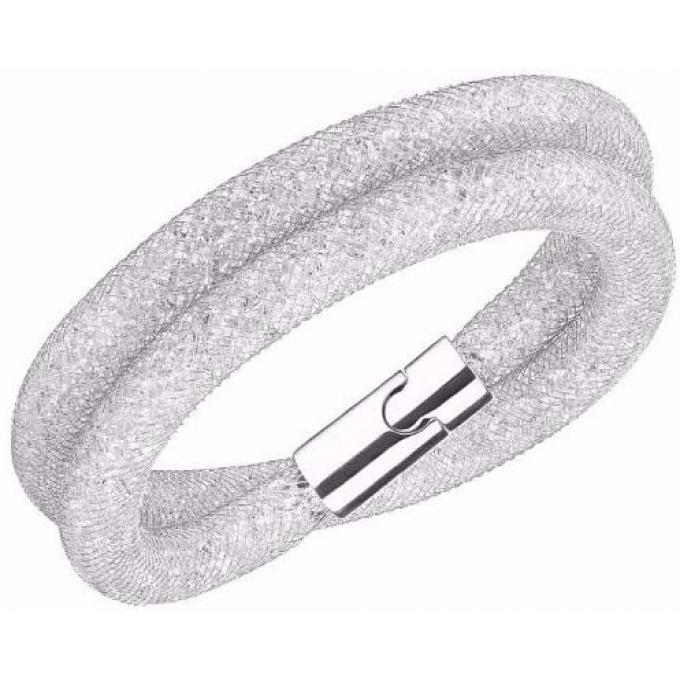 Bracelet Swarovski STARDUST 5159279 , Bracelet Double Tour Argenté Femme