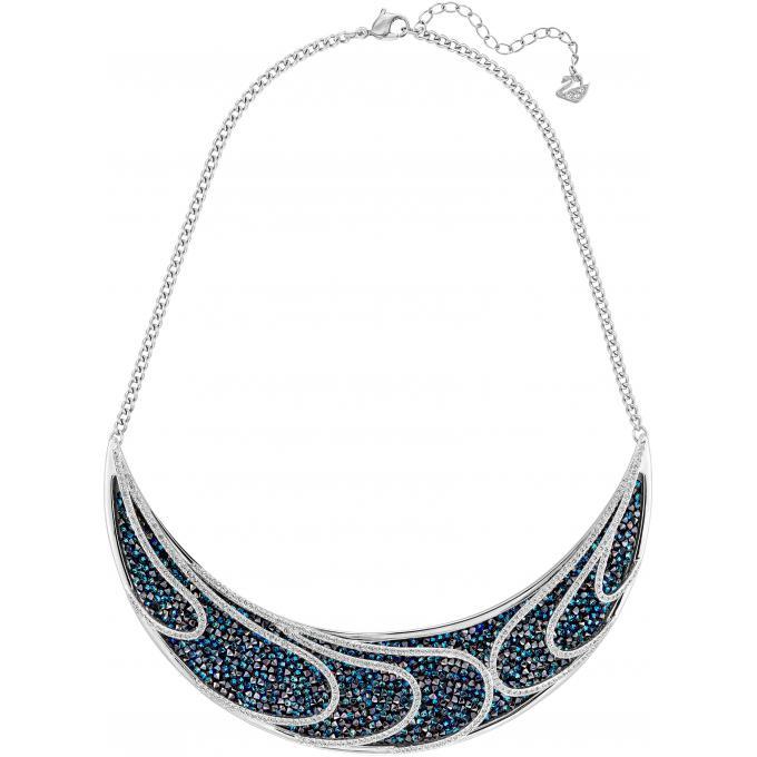 collier et pendentif swarovski 5190040 collier et pendentif acier bleu femme sur bijourama. Black Bedroom Furniture Sets. Home Design Ideas