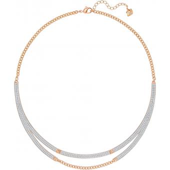 Collier Swarovski Modern Jewelry 5230675 - Collier Doré Mode Femme