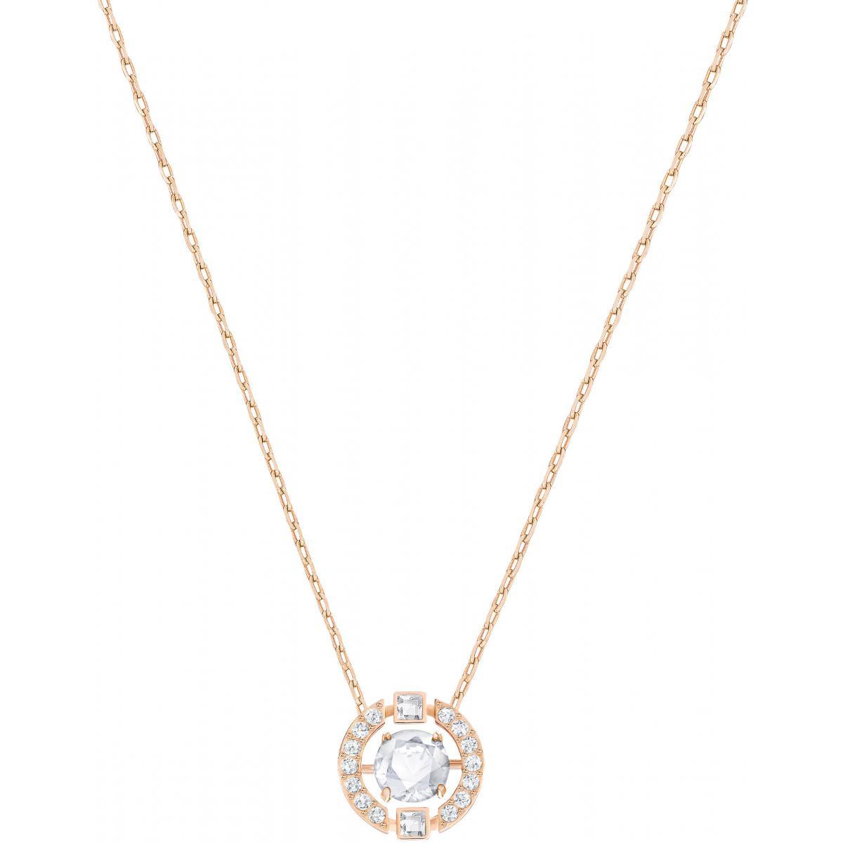 Collier et pendentif Swarovski 5272364 - Collier et pendentif Cristal Or  Rose Femme
