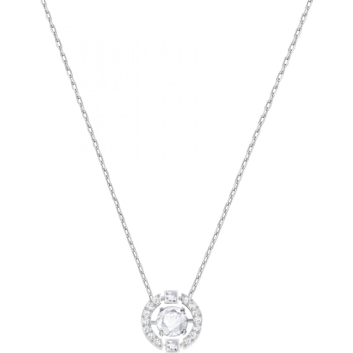 Collier et pendentif Swarovski 5286137 - Collier et pendentif Acier Cristal  Argenté Femme