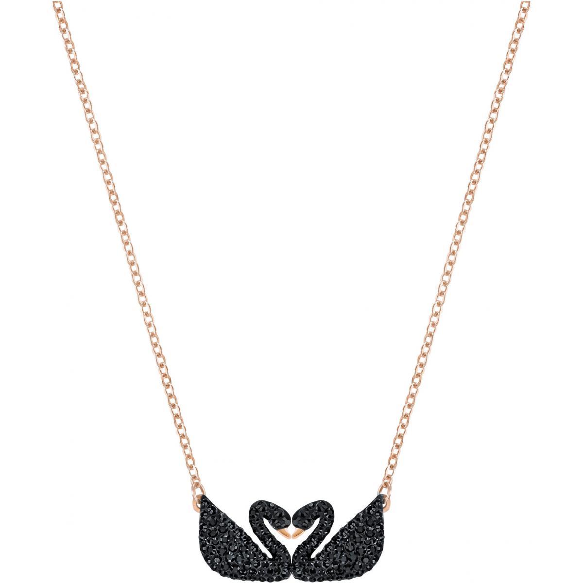 Collier et pendentif Swarovski 5296468 - Collier et pendentif Cygnes Sertis  Femme