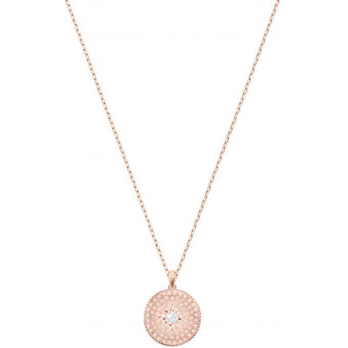 bd132745a9033 Collier et pendentif 5374560 - Collier et pendentif Plaque Or rose Femme