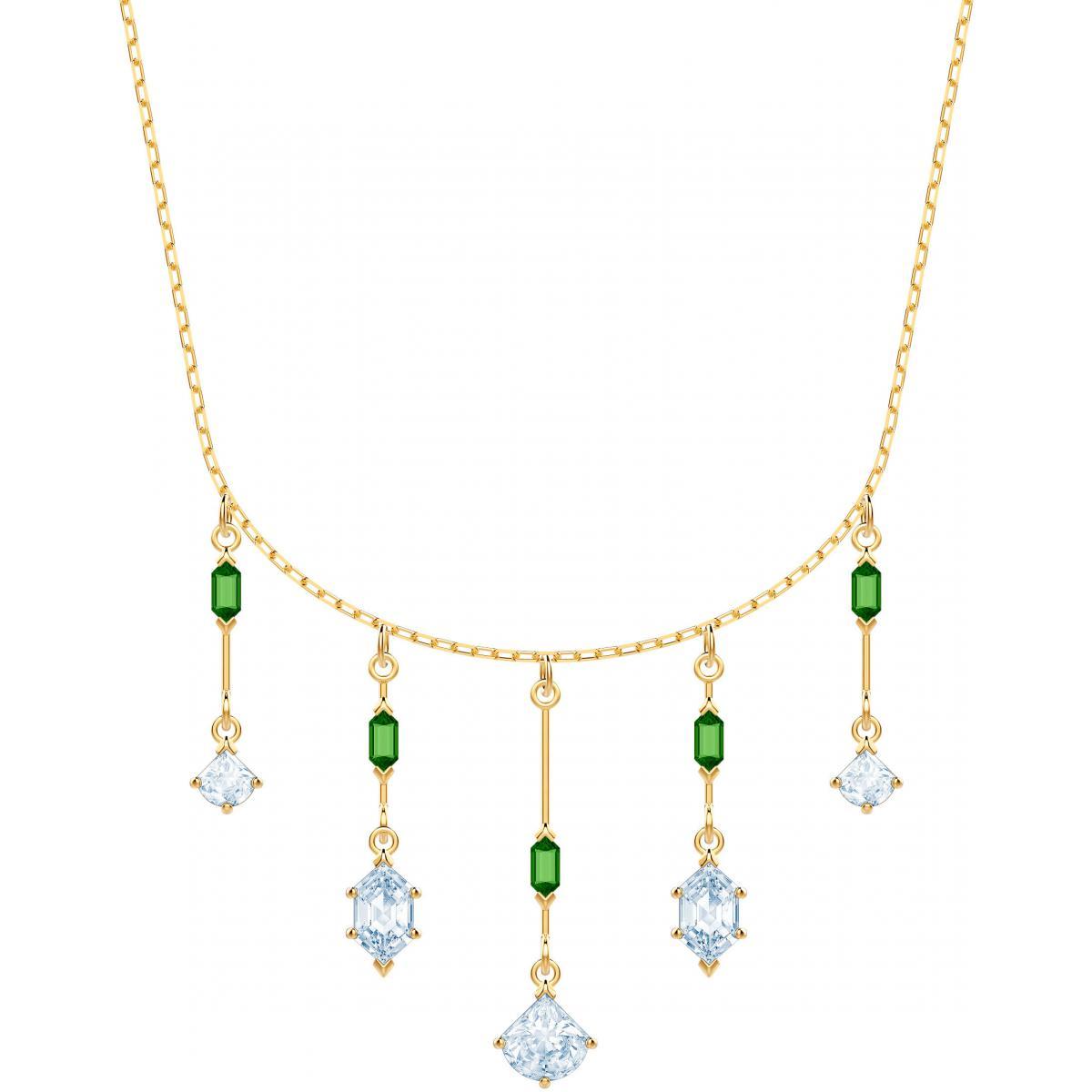 Collier et pendentif Swarovski 5455519 - Collier et pendentif Pendants  Cristaux Blancs et Verts Femme