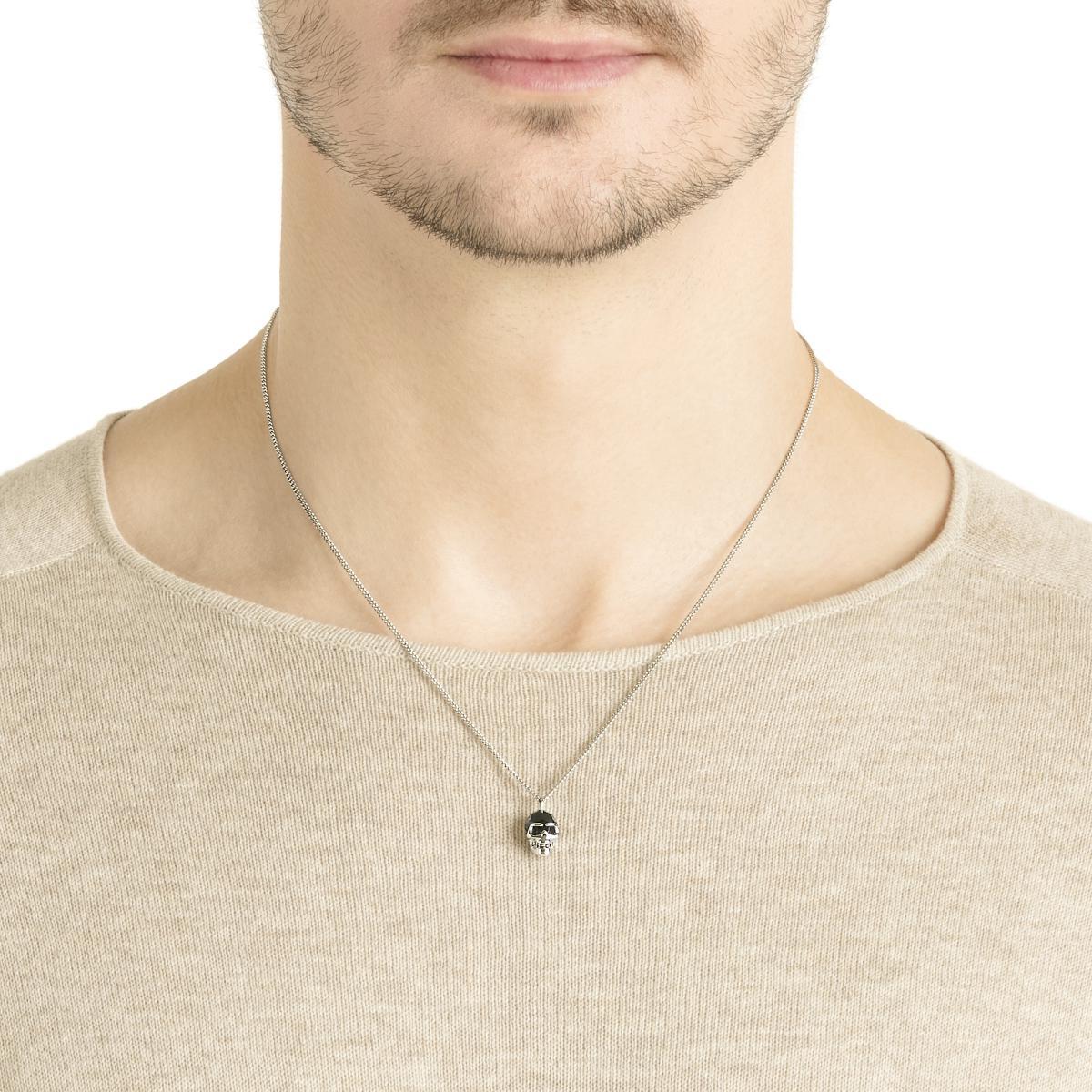 collier swarovski pour homme