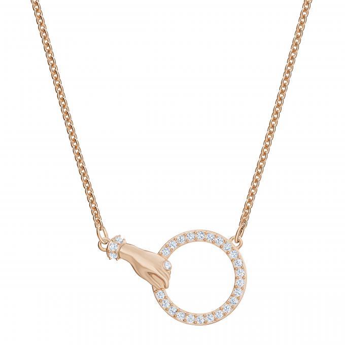 qualité supérieure vente en magasin recherche de véritables Collier et pendentif Swarovski 5489573 - Métal Doré Rose ...