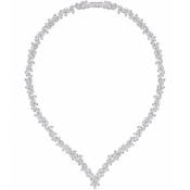 Collier Swarovski 5184273 - Collier Cristaux Brillants Femme