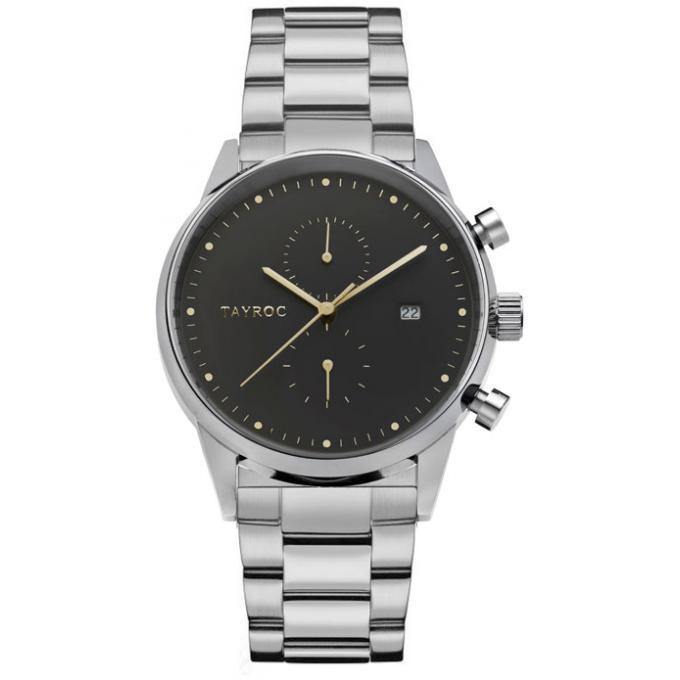 montre tayroc ty176 montre acier gris homme sur bijourama montre homme pas cher en ligne. Black Bedroom Furniture Sets. Home Design Ideas
